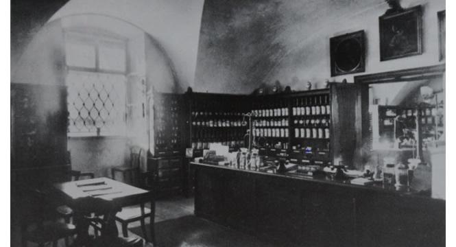 Verkaufsraum 1935